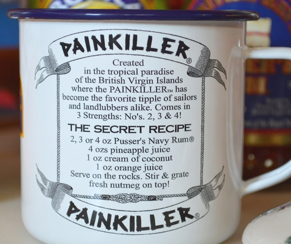 Pusser's pain killer recipe