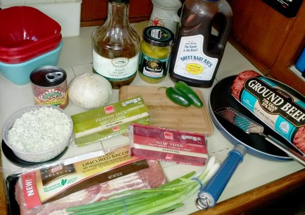 1 Burgers 1 - Ingredients