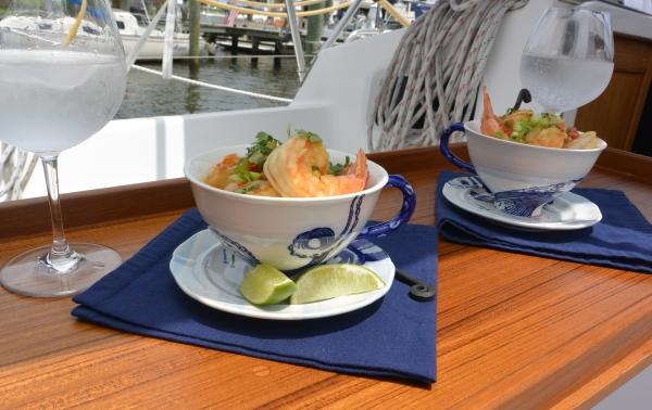 shrimp served two