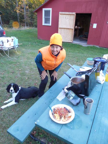 huevos camping