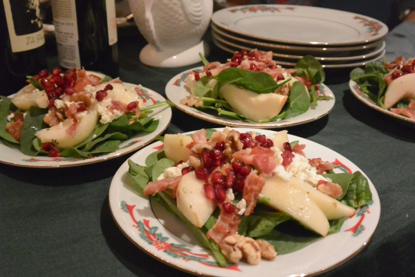 4 pear salads