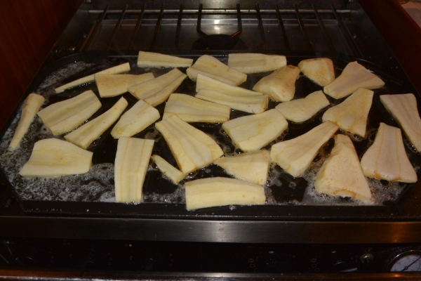 parsnips sauted