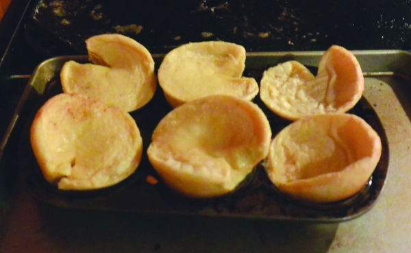 yorkshire pudding puffed