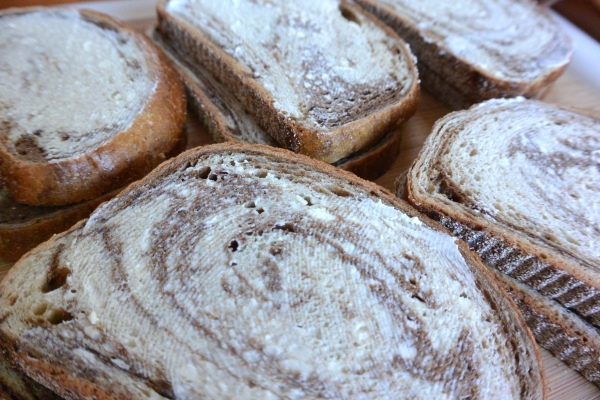 buttered rye
