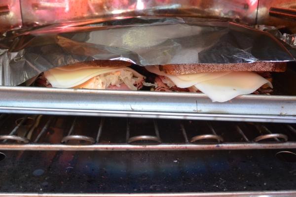 Reubens under foil
