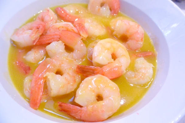 shrimp in mango sauce 2