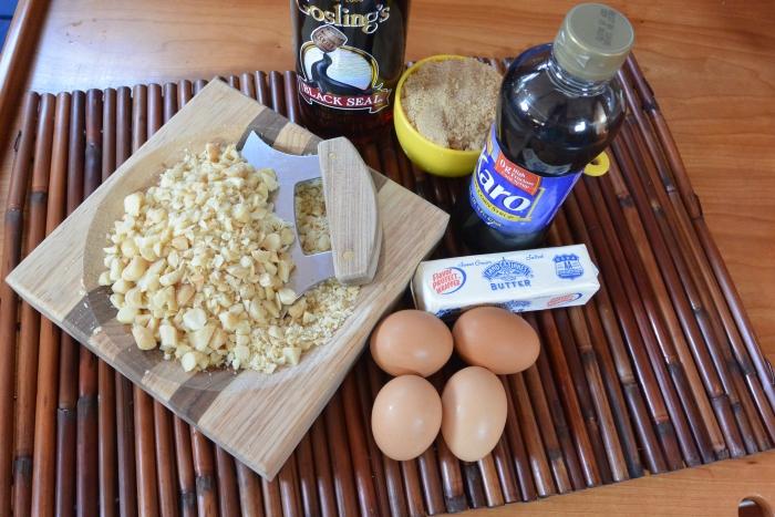 macadamia pie ingredients