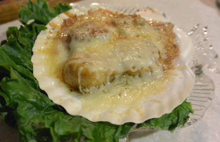 coquille saint jacques single