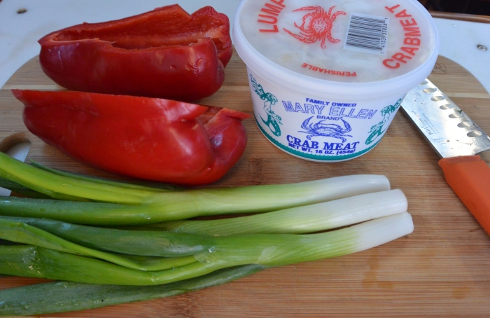 crab frittata ingredients
