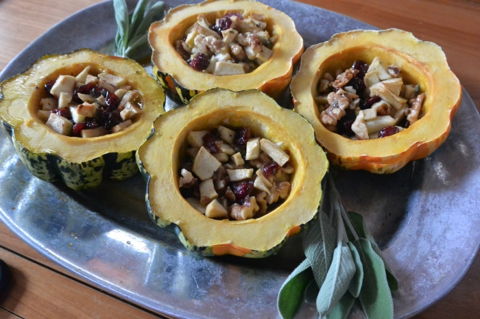 stuffed squash cooked
