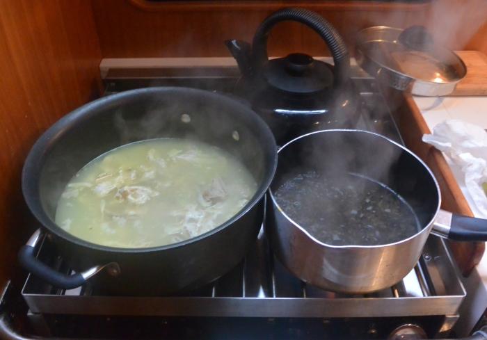 boil rice boil turkey