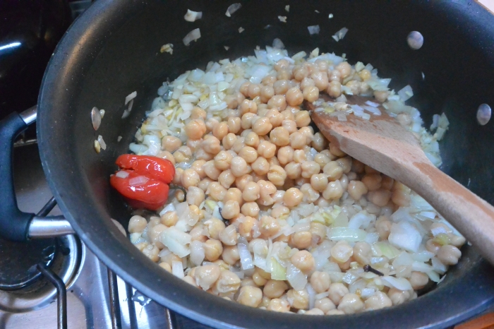 add garbanzo beans