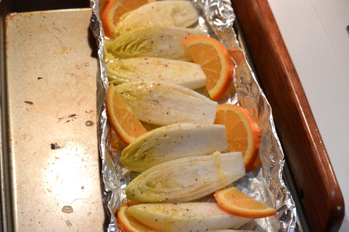 belgian endive ready for oven