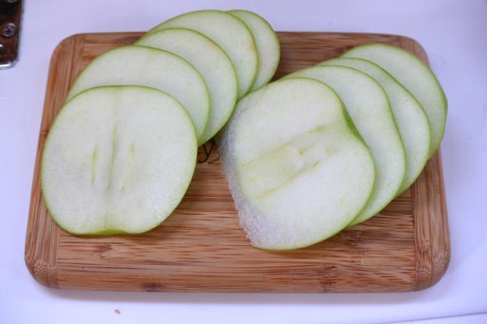 slice apple