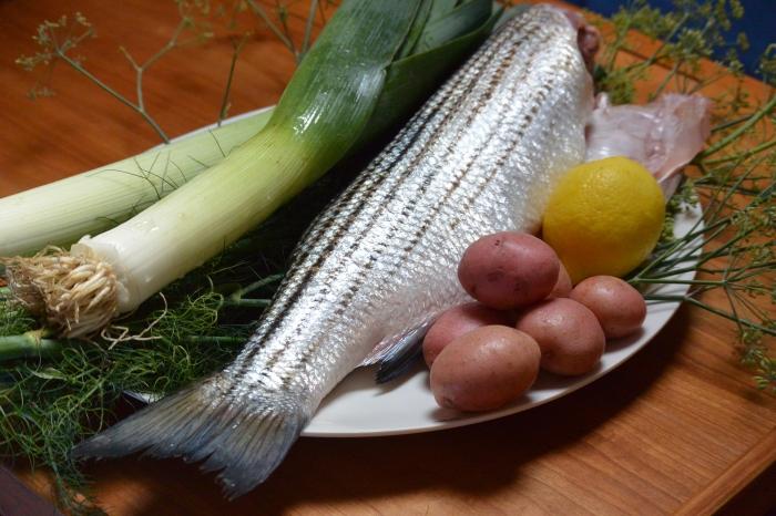 baked rockfish ingredients